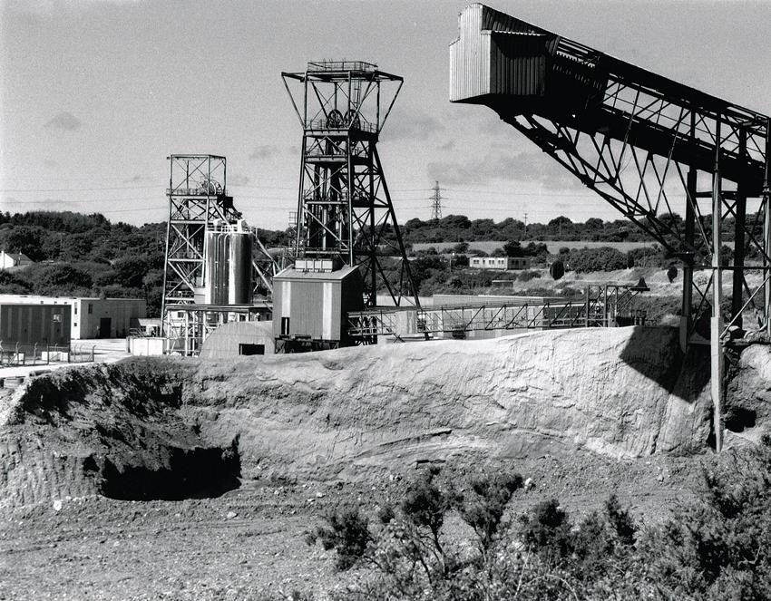 Wheal Jane Mine