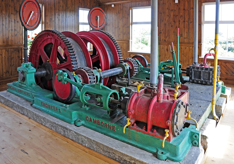 Castle-an-Dinas Steam Winder