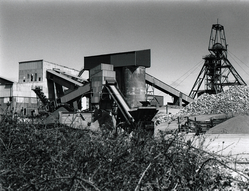South Crofty Mine Surface Galleries