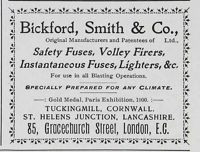 Bickfords Fuse Works
