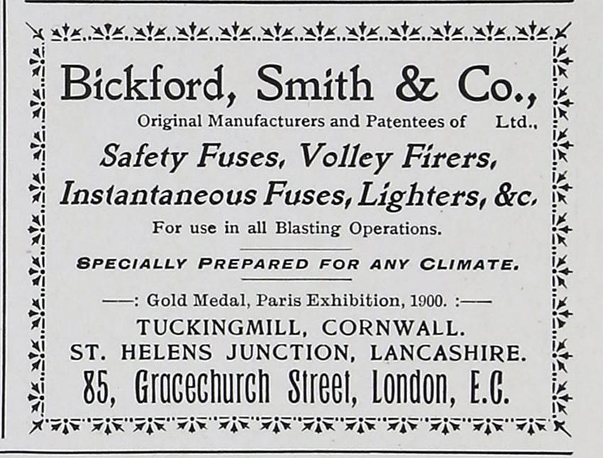 Bickfords Fuse Works