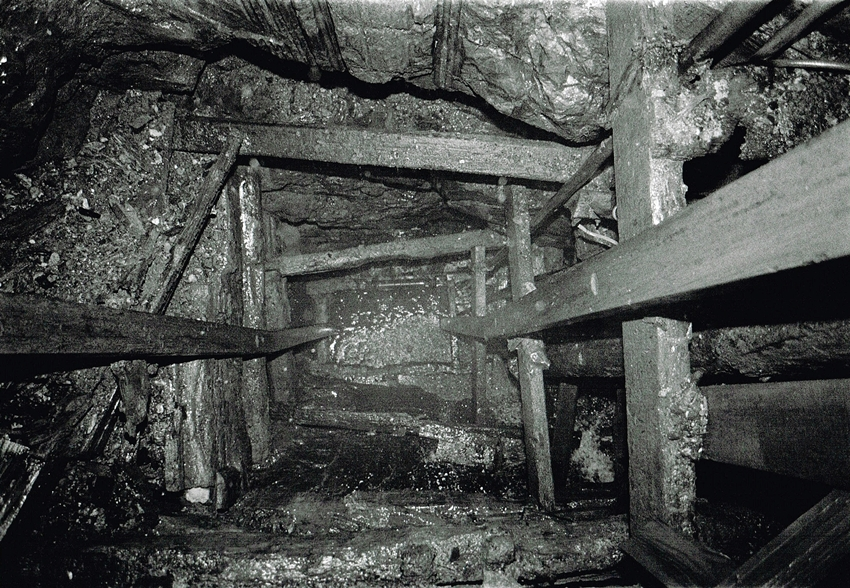 Levant Mine Skip Shaft