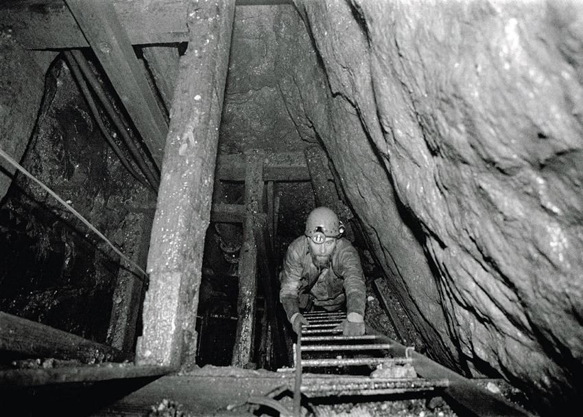 Levant Mine Skip Shaft