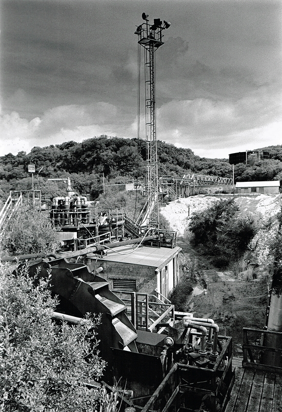 Great Wheal Prosper China Clay Pit