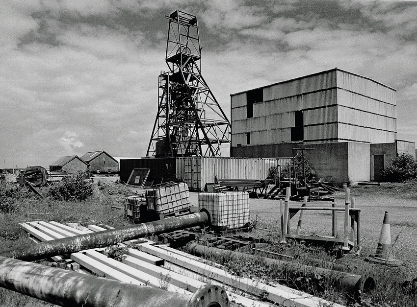 South Crofty Mine Surface 2016