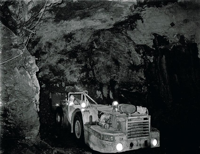 South Crofty Mine 2011
