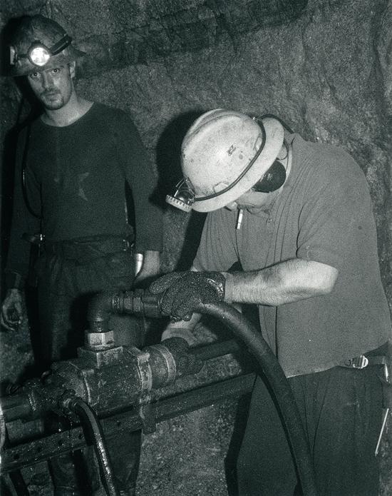South Crofty Mine Underground 7