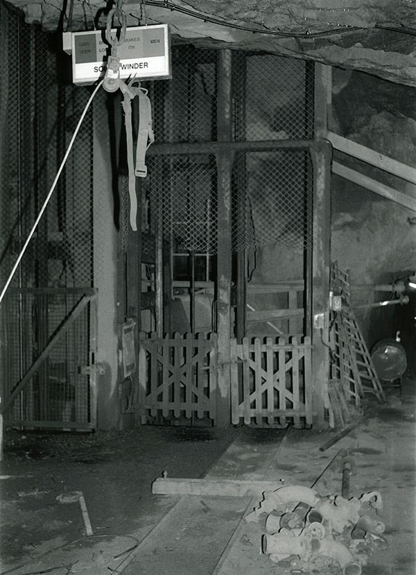 South Crofty Mine Underground: 1.7
