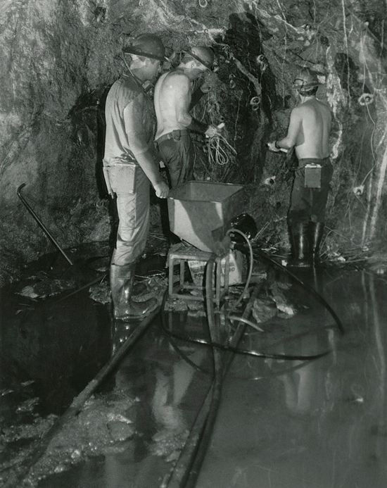 South Crofty Mine Underground 14