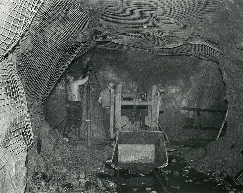Cornish Miners Memories, South Crofty Mine
