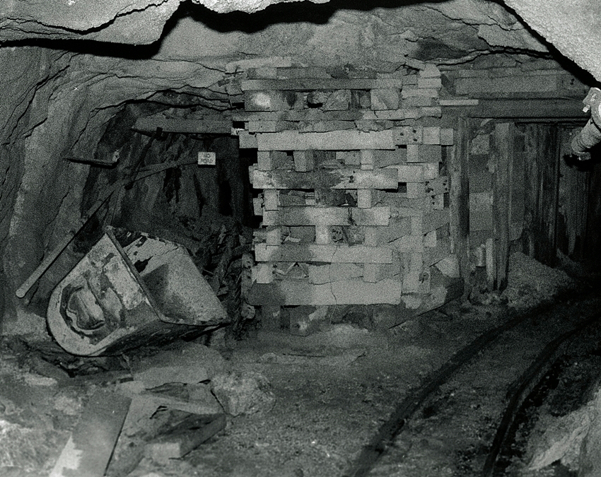 South Crofty Mine Old Workings 1